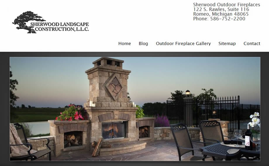 Sherwood Outdoor Fireplaces